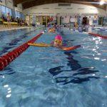 Nauka pływania na basenie szkoła Hanami