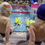 Pływanie z płetwami szkoła Hanami Bydgoszcz