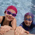 Uczennice szkoły pływani aBydgoszcz Hanami