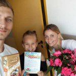 Wręczenie dyplomów - Hanami szkoła Pływania Bydgoszcz