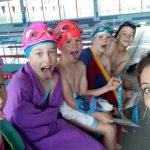 po zajęciach nauki pływania Hanami
