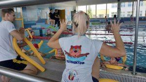 Nauka poprzez zabawę Hanami szkoła pływania Bydgoszcz