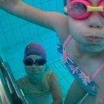 nurkujemy na basenie ze szkoła pływania Hanami Bydgoszcz