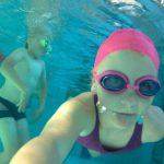 Selfie pod wodą - szkoła pływania Hanami Bydgoszcz